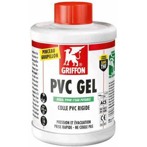 Colle PVC : pot 1 litre