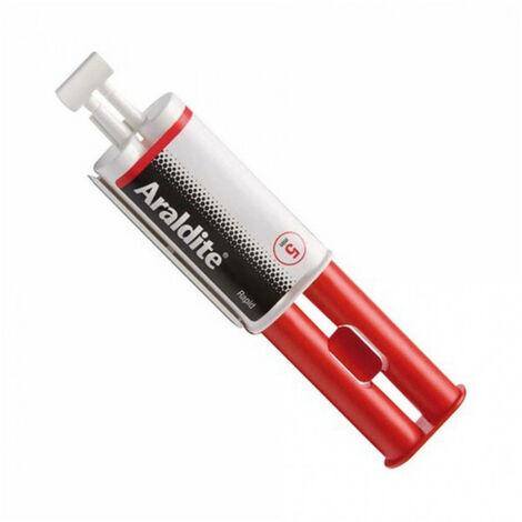 Colle 'rapide' 24ml en seringue ARALDITE - plusieurs modèles disponibles