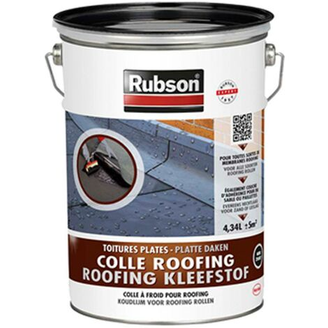 Colle roofing Rubson Noir 4,34 L