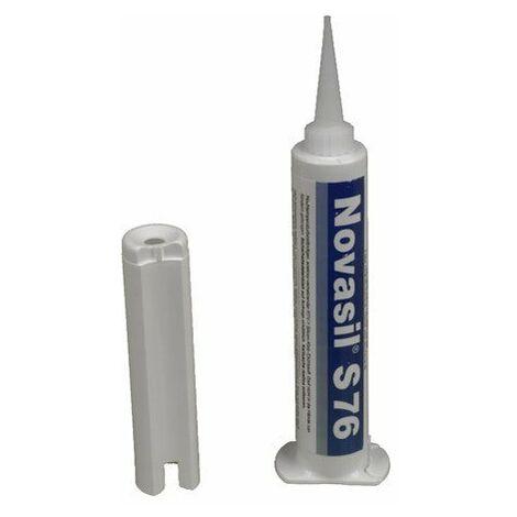 Colle silicone Haute Température Novasil S76 - 80 ml