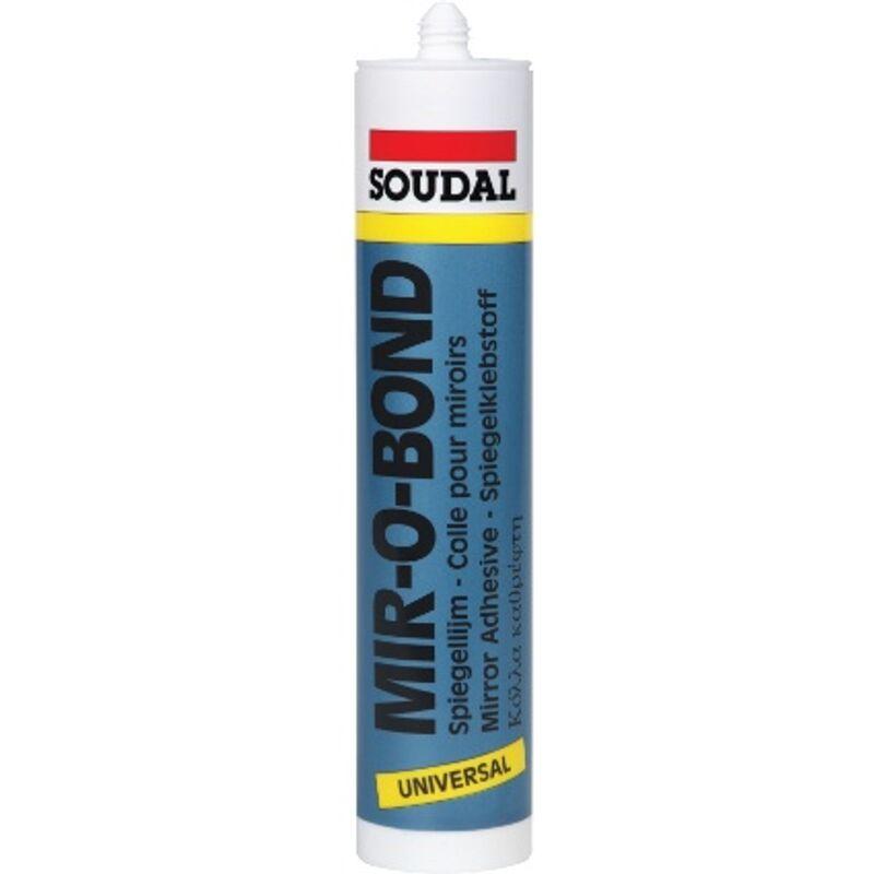 Colle silicone Soudal 'Mir-O-Bond' 310ml