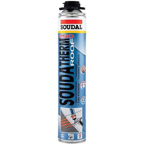 Colle Soudatherm 250 (12m²) EPDM pour isolant - bombe de 500ml - 126512