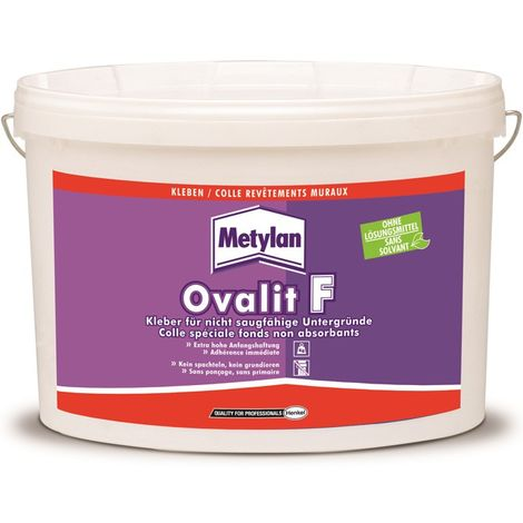 Colle spéciale fonds non absorbants Ovalit F 5kg