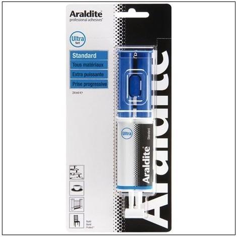 Colle 'standard' 24ml en seringue ARALDITE - plusieurs modèles disponibles