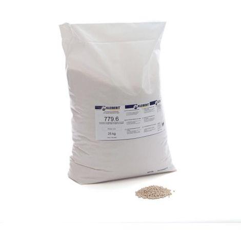 Colle thermofusible pour plaqueuses de chants 779.6, coloris ivoire, 25 kg