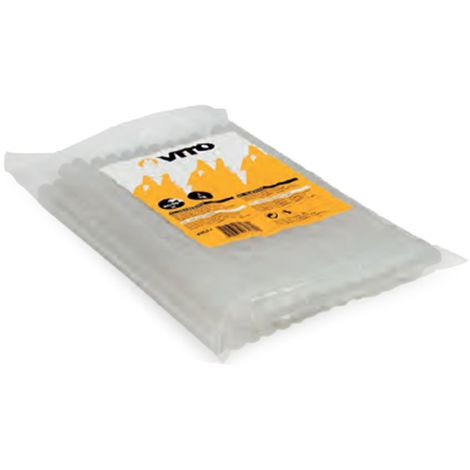 Colle thermofusible standard bâton diam 10 mm sachet de 1 kg pour pistolet à colle