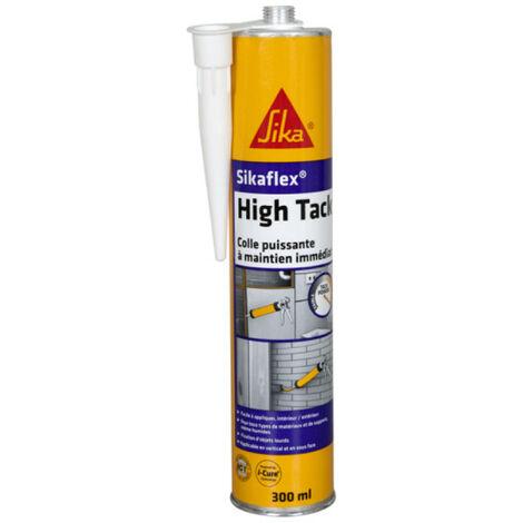 Colle universelle à maintien immédiat blanche Sikaflex High Tack 300 ml SIKA- plusieurs modèles disponibles