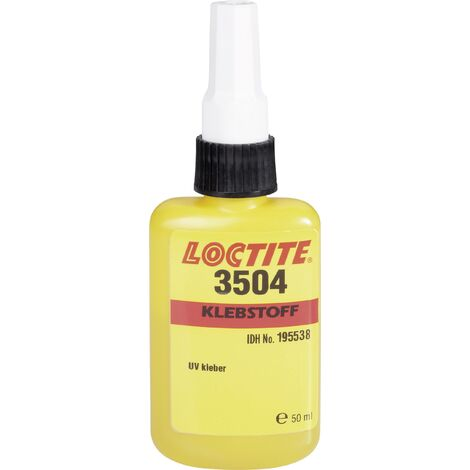 Colle UV LOCTITE® 195538 50 ml C02198