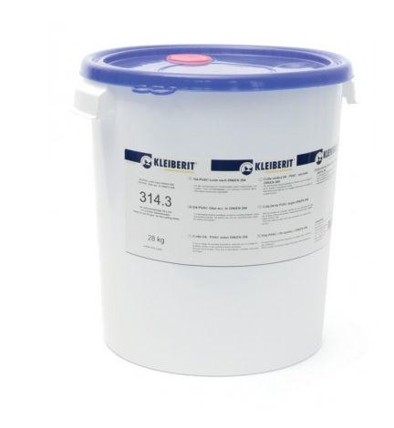 Colle vinylique D4 monocomposante KLEIBERIT 314.3 - seau 30kg avec membrane pour vanne - 314.3.3005