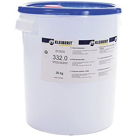 Colle vinylique de montage 332.0 KLEIBERIT - seau 30kg - 332.0.3006