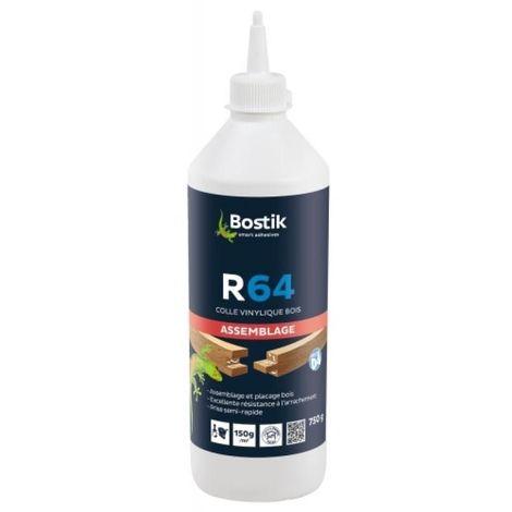 Colle vinylique R 64 prise lente menuiserie extérieur biberon de 750 grammes