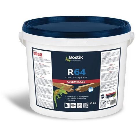 Colle vinylique R64 D4 BOSTIK - seau de 20kg - 30604659