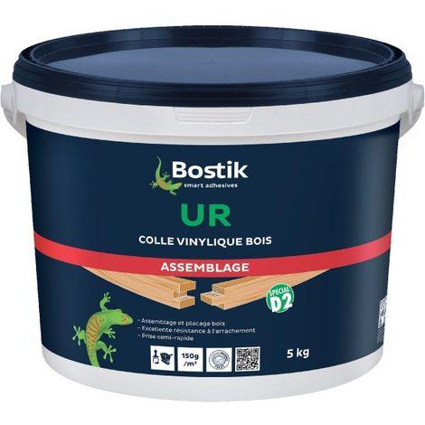 Colle vinylique prise ultra rapide 5 kg - UR - Bostik
