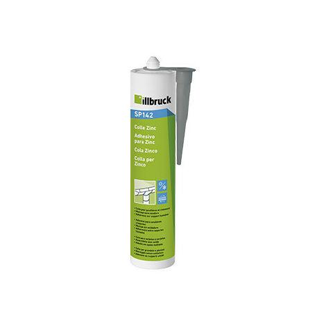 Colle zinc façade et couverture gris FT142 - 310 ml