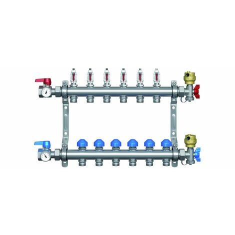 Collecteur Cosypack Confort - 4 circuits - pour plancher chauffant