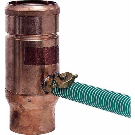 Collecteur d eau de pluie tuyau cuivre - diam 100 mm