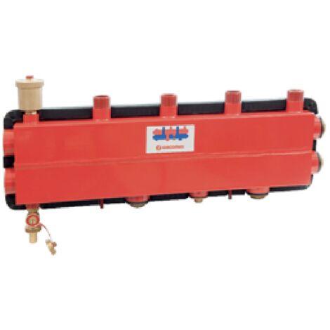 Collecteur de chaufferie avec séparateur hydraulique Giacomini R586SEP