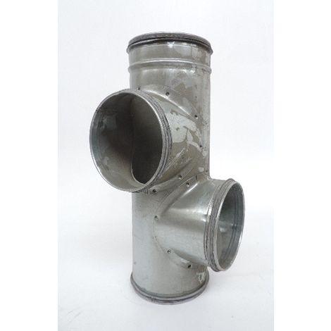 Collecteur d'étage à joints CET 125/2/125 J 2 piquages conduits et accessoires métalliques ATLANTIC CLIMATISATION 529750