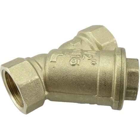 Collecteur dimpuretés ICH 507614 Filetage intérieur 3/8 5 bar 500 µm 1 pc(s)