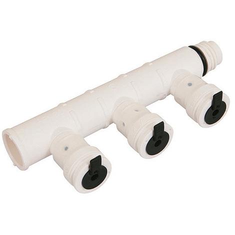 Collecteur multicouche Vision 3 sorties Ø16x2,0