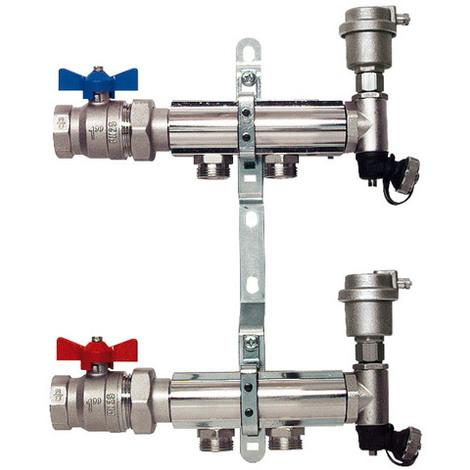"""Collecteur pour radiateurs - diamètre filetage 1"""" (26-34mm) - Femelle/Femelle - SOMATHERM"""