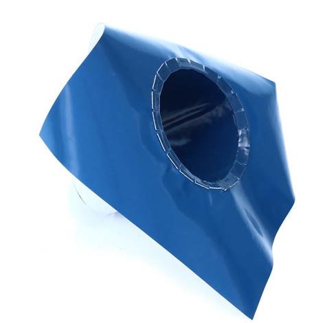 Collerette pour membrane d'étanchéité anti-termite et radon