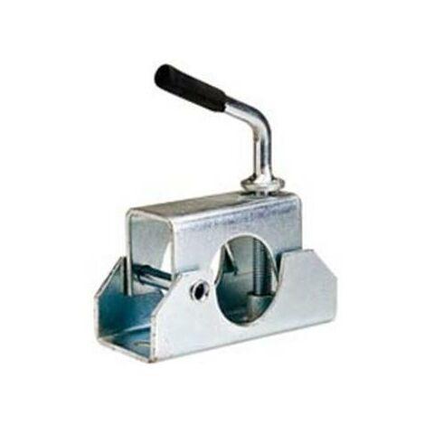 Collier à charniere pour roue jockey de diametre 48 mm