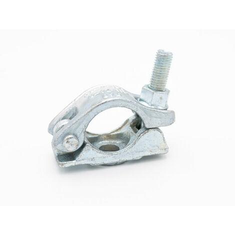 Collier acier forgé avec boulon (49mm, 60mm) Lot de 5 pièces 49mm