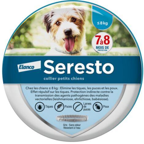 Collier anti-puces et antiparasitaire pour chien