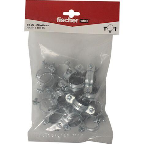 Collier Atlas simple 7x150 Ø22 - 20 pièces