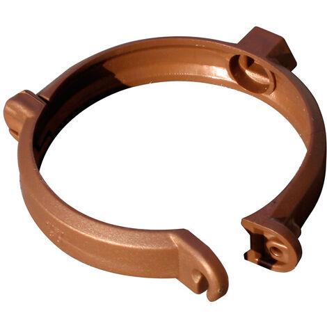 Collier bride pour tube de descente PVC Ø80