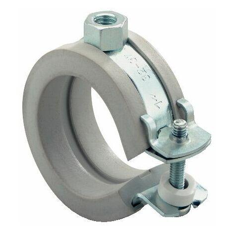 Collier d attache pour tuyaux en plastiq FKS Plus 59-63 Plage de serrage 56 - 63 mm