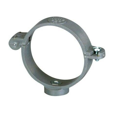 Girpi Collier /à charni/ère pour tuyau d/évacuation /Ø 63 mm gris
