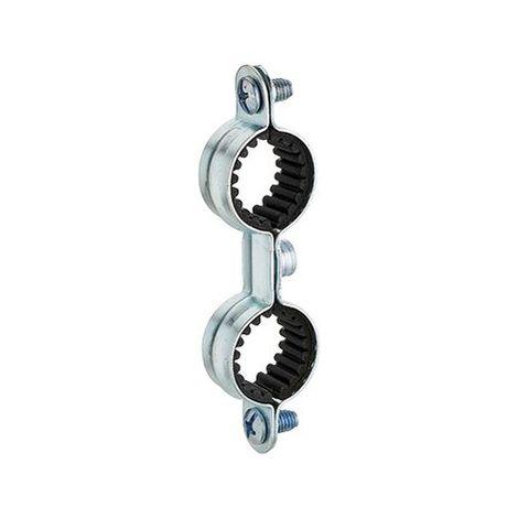 collier de fixation isophonique double