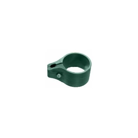 Collier de Fixation VERT pour panneau rigide sur portillon grillagé