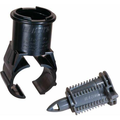 Collier de prise en charge autopercant pour branchement d'arroseur Ø25 x Mâle Cannelée pour Funny Pipe