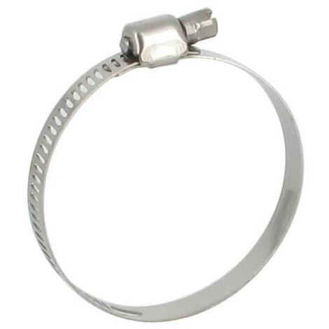 Collier de serrage inox - 32-52 mm (lot de 3)