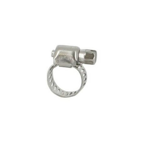Collier de serrage inox - 8-12 mm (lot de 4)