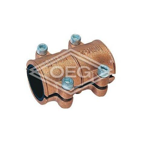 Collier d'etancheite en laiton 12mm pour eau PN 10 jusqu'a 90°C selon DIN 1786
