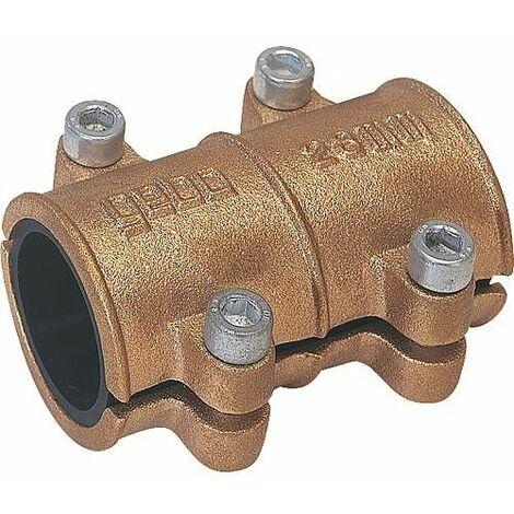 Collier d'etancheite en laiton 70mm pour eau PN 10 jusqu'a 90°C selon DIN 1786