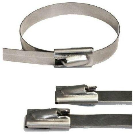 Collier fixation isolant echappement Pack 10pieces