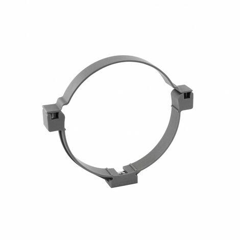 collier fixation tuyau monobloc nylon ø 100 mm, 2 pièces