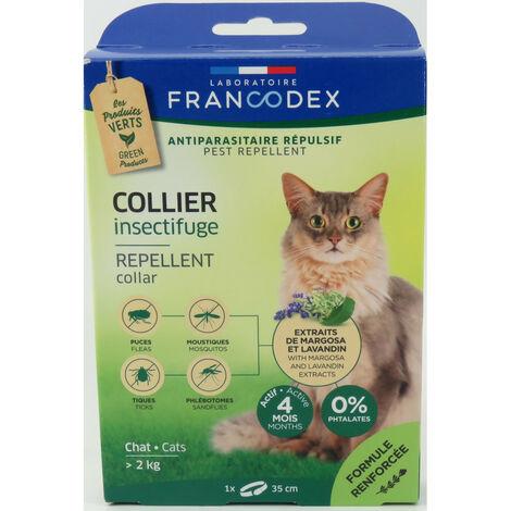 """main image of """"Collier Insectifuge Pour Chats de plus de 2 kg. longueur 35 cm."""""""