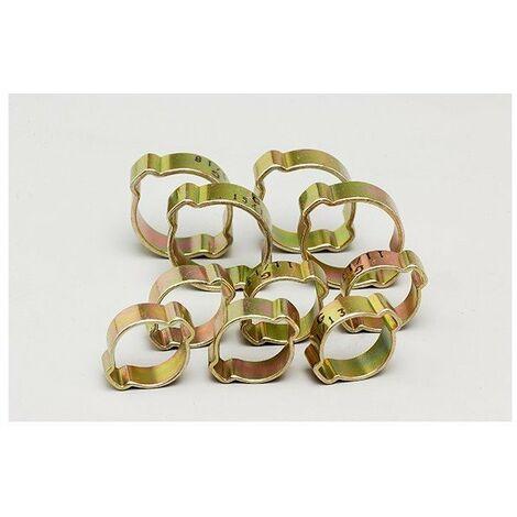 Collier oreilles 6x(13-15) +4x(15-18) - blister