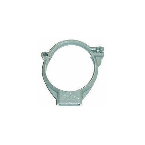 Collier plastique à brides taraudé 7/150 pour tube PVC