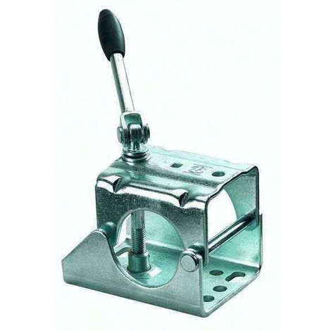 Collier poignée rabattable pour roue jockey diamètre 60mm