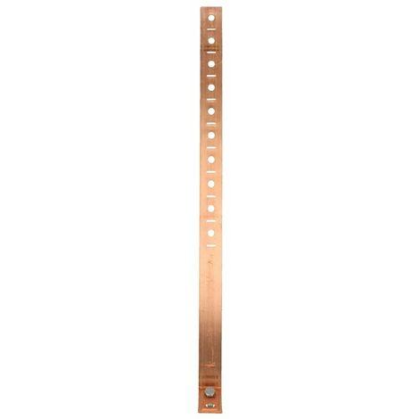 Collier pour descentes de gouttière 60-150 mm Cu avec alésage Ø 10,5 mm