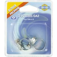 Collier pour tube gaz butane / propane Eurogaz