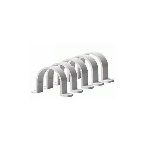Collier pour tube PVC, diamètre 51mm (vendu par 5)