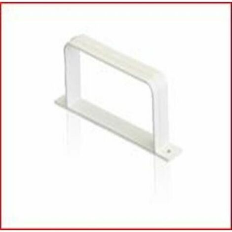 COLLIER RECTANGULAIRE TUBE D'EXTRACTION PVC 150X75 0855TB